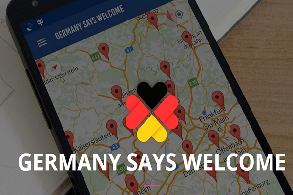 Germany says welcome